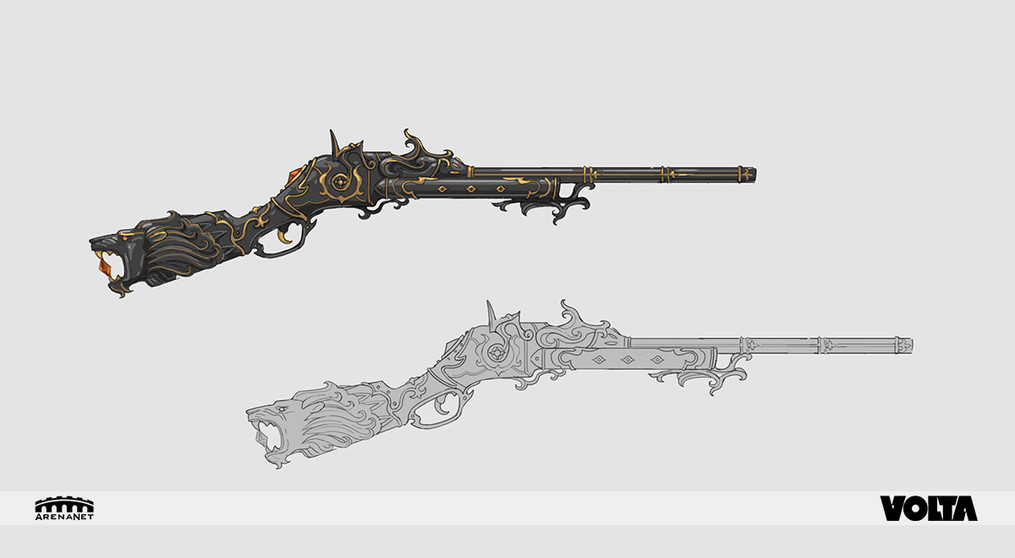 Guild Wars 2 - Black Lion Rifle