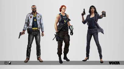 Battlefield Hardline - Police Characters