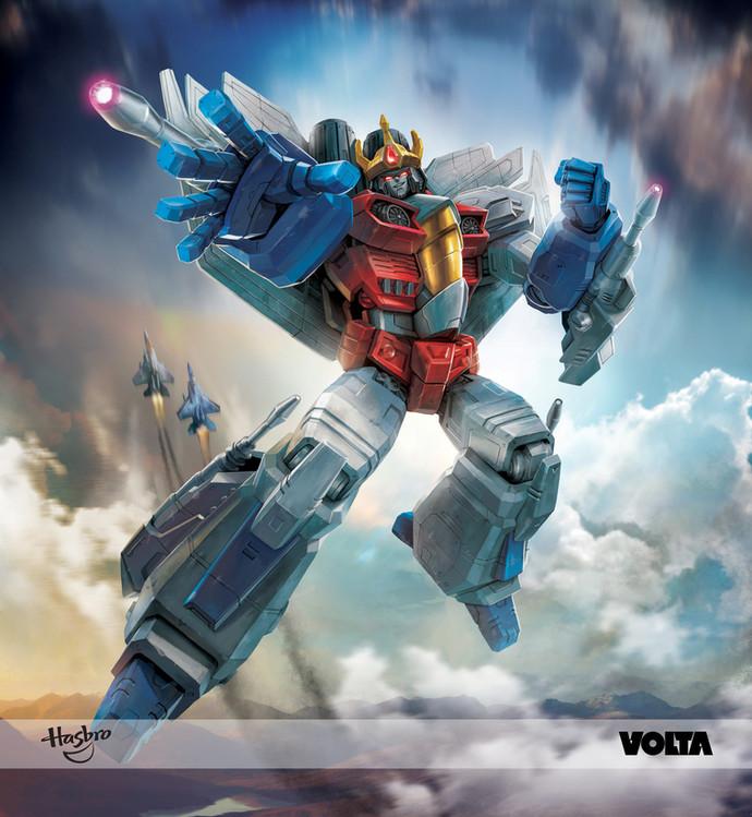 Transformers - Leader King Starscream