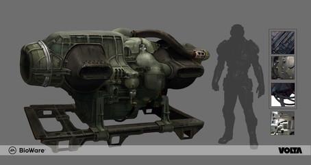 Mass Effect Andromeda - Generator