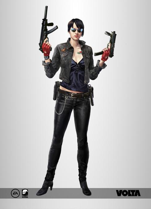 Battlefield Hardline - Biker Chick