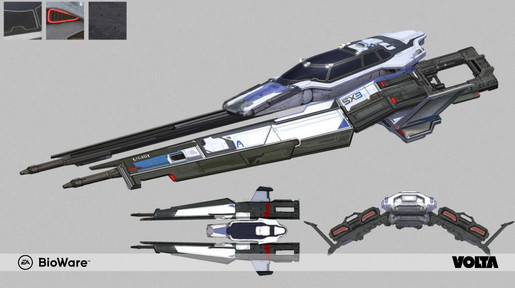 Mass Effect Andromeda - Milky Way Fighter