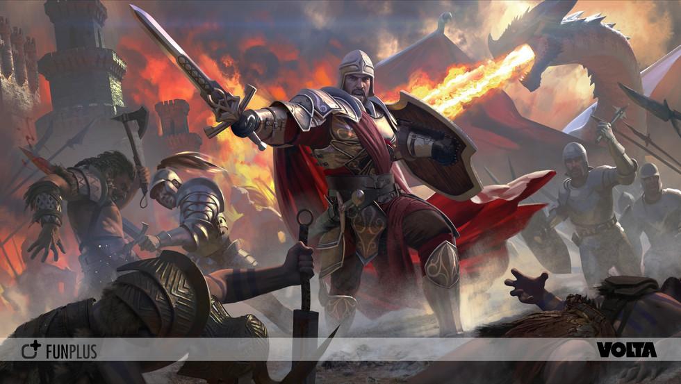 King of Avalon - Art