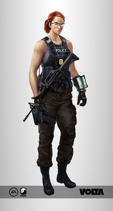 Battlefield Hardline - Police Woman