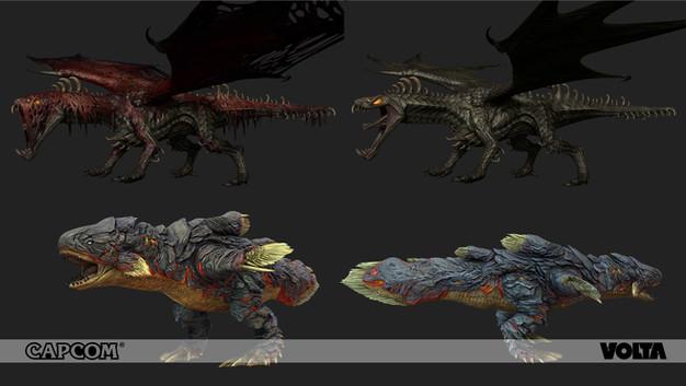 Monster Hunter World - Vaal Hazak and Lavasioth