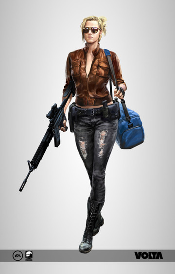 Battlefield Hardline - Female Criminal