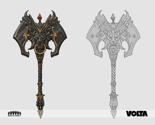 Guild Wars 2 - Black Lion Axe