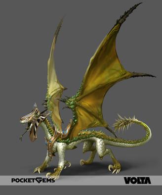 War Dragons - Oasis Desert Dragon