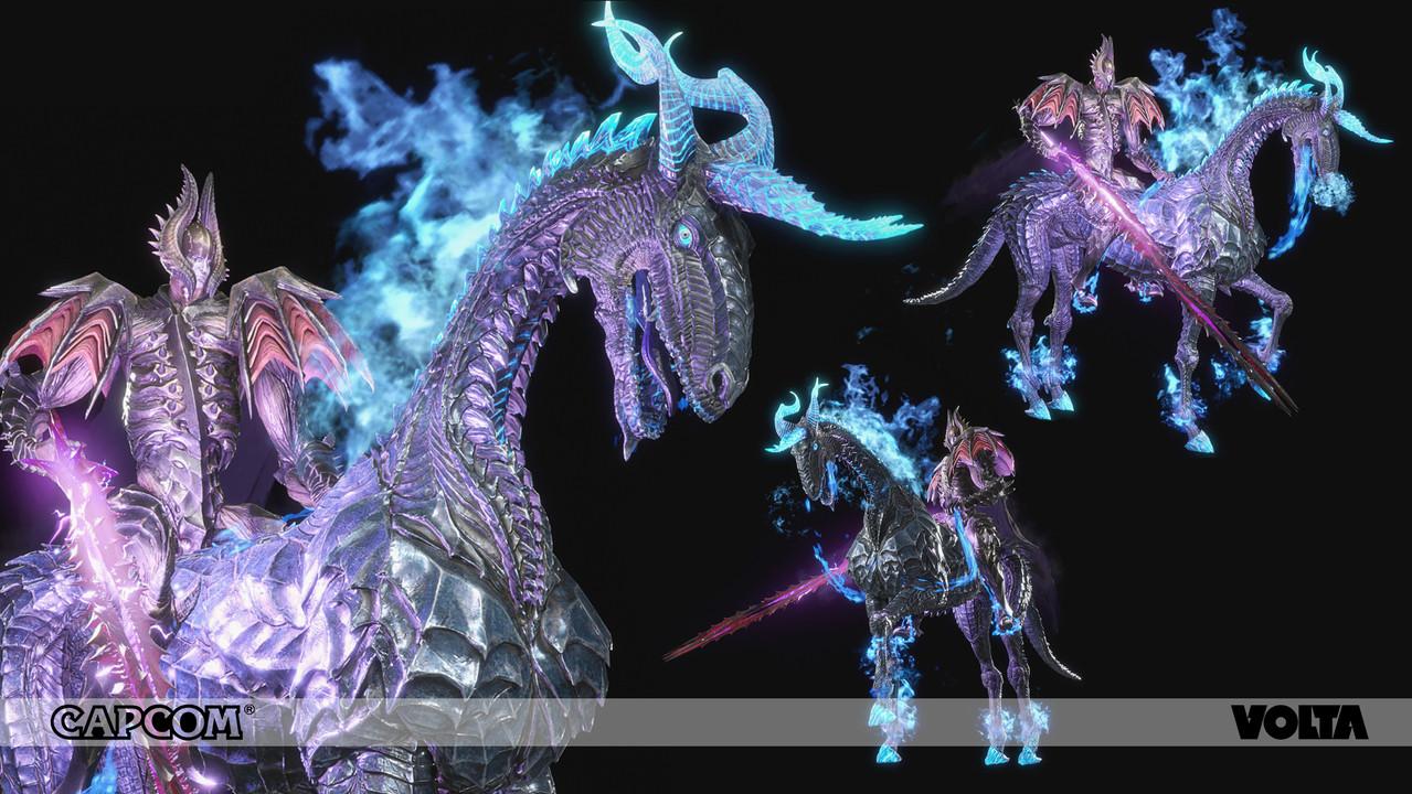 Devil May Cry 5 - Elder Geryon Knight