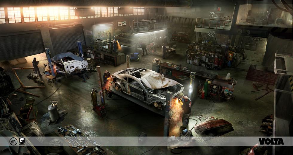 Battlefield Hardline - Workshop Environment