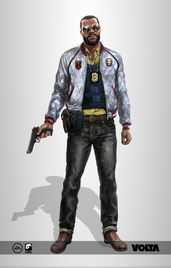 Battlefield Hardline - Male Character