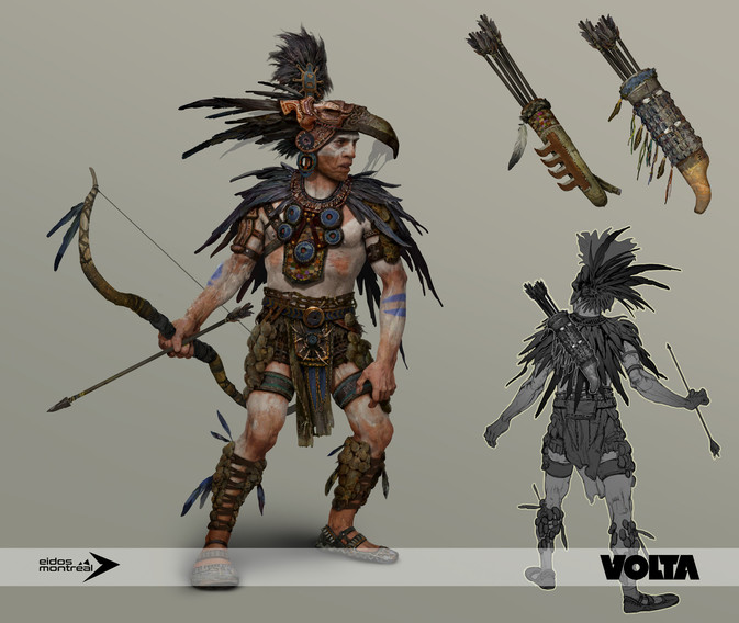 Tomb Raider - Aztec Archer