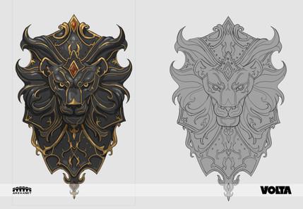 Guild Wars 2 - Black Lion Shield