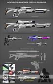 Mass Effect Andromeda - Angara Sniper Rifle