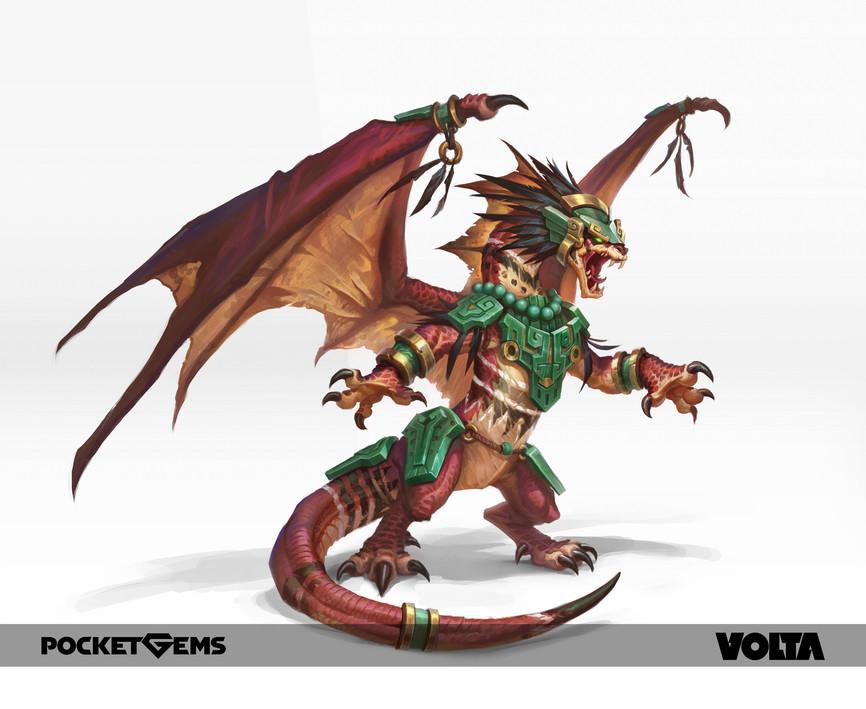 War Dragons - Shaman Warrior