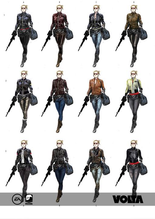 Battlefield Hardline - Female Criminal Variations