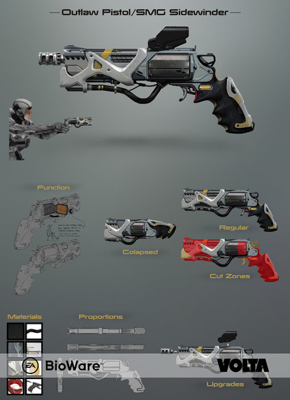 Mass Effect Andromeda - Outlaw Pistol