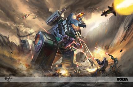Transformers - Trypticon Takara