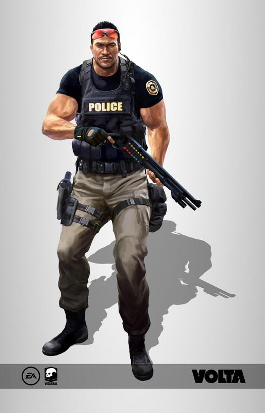 Battlefield Hardline - SWAT Officer