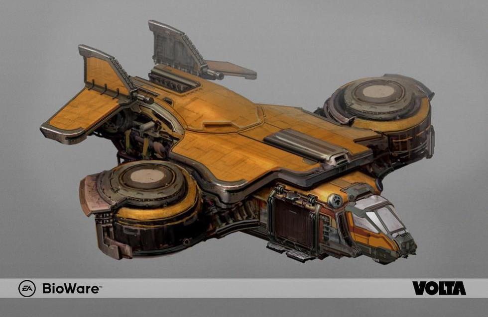 Mass Effect Andromeda - Outlaw Shuttle