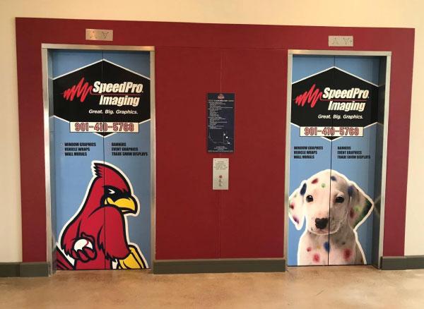 SpeedPro Imaging Elevator Wraps
