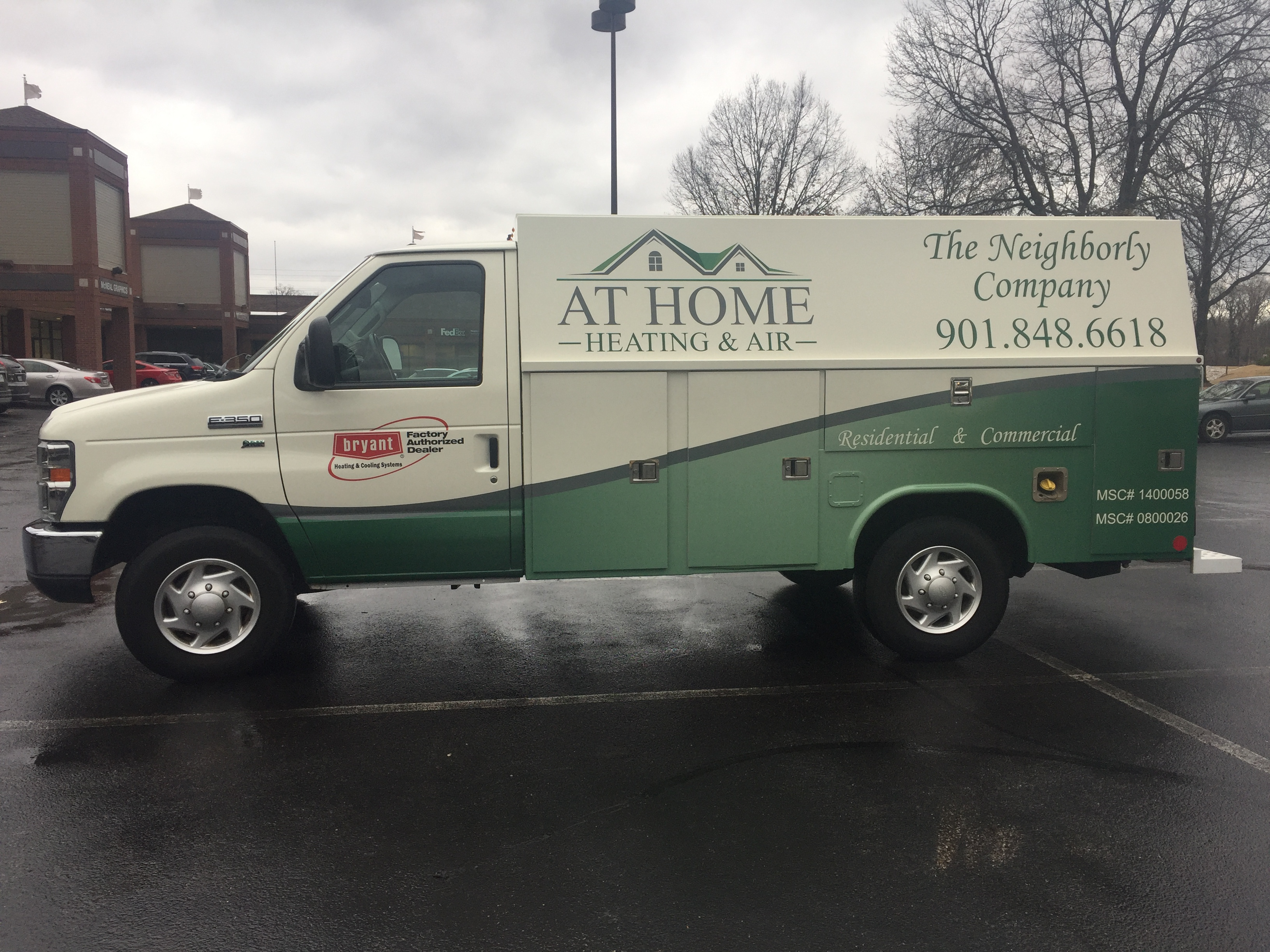 AT HOME Heating & Air