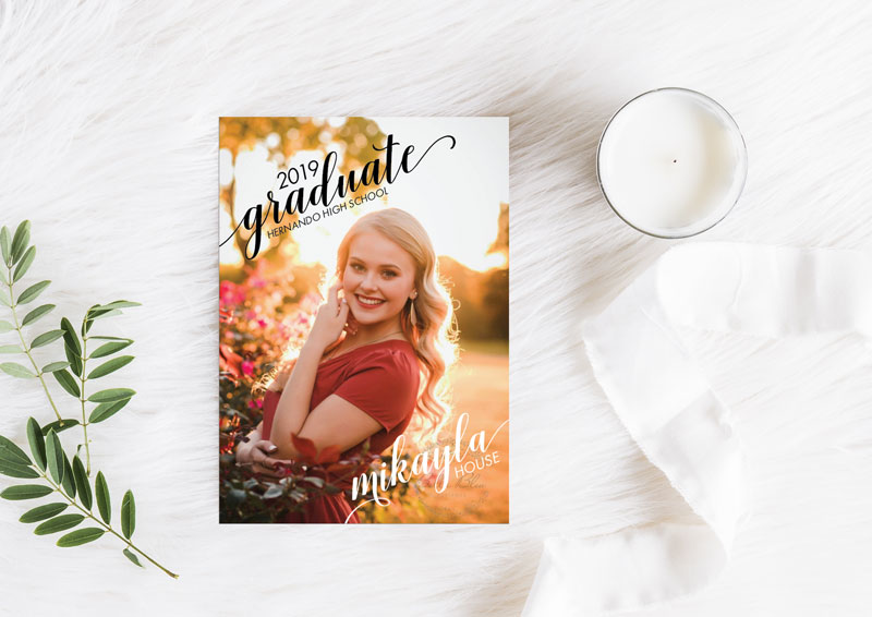 Mikayla's Graduations Invitation