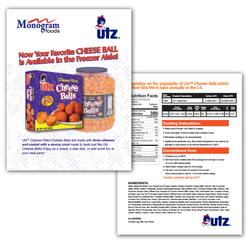 Utz Sales Sheet