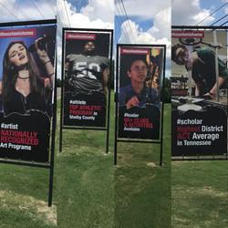 Houston High School Banners