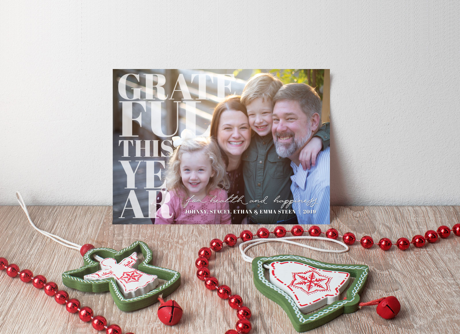Grateful This Year Christmas Card