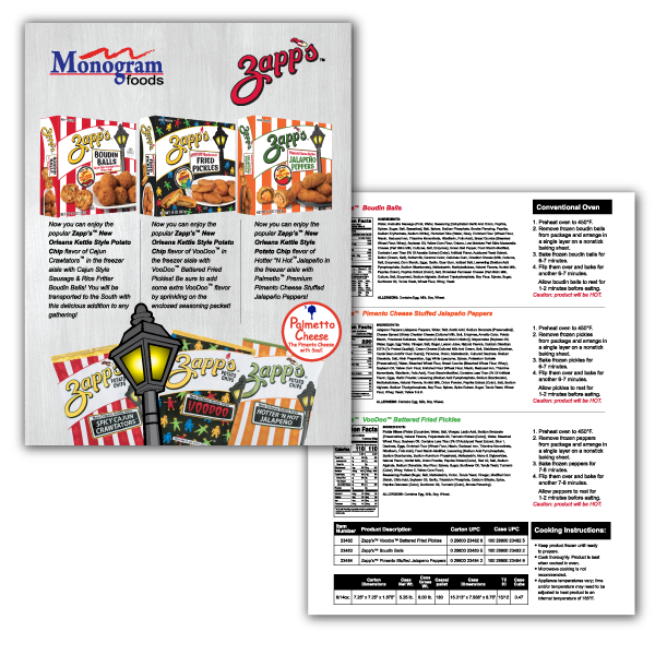 Zapps Sales Sheet