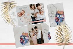 Evie & Zoey Birth Announcement