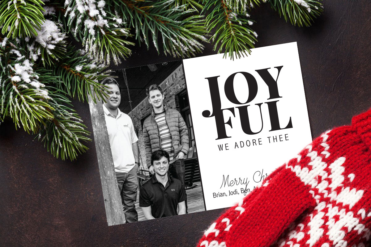 Joyful Christmas Card