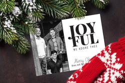 Joyful Christmas Card
