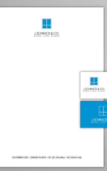 J. Schrack Logo Identity