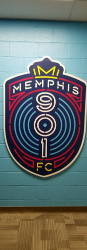 Memphis 901FC Locker Room Design