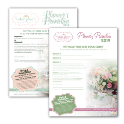 White Glove Planners Promos