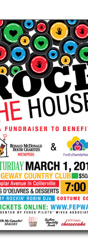 Rock the Houses Fundraiser Branding
