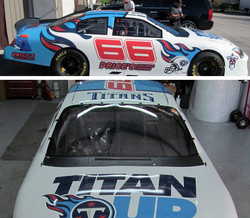 Tennessee Titans Nascar Vehicle
