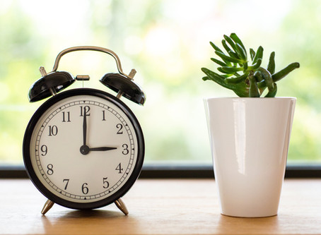 Everyday is Sunday: The Importance of Maintaining Routines, Proper Sleep Patterns and Organisation