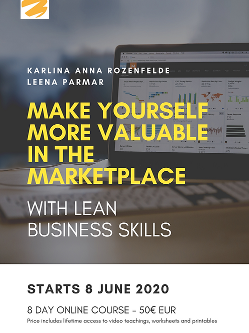 Make Yourself More Valuable In The Marketplace With Lean Business Skills