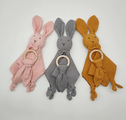 Organic Cotton Comforter With Teether