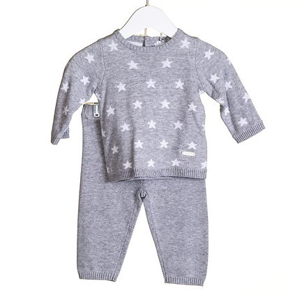 Grey Star Knitted Set