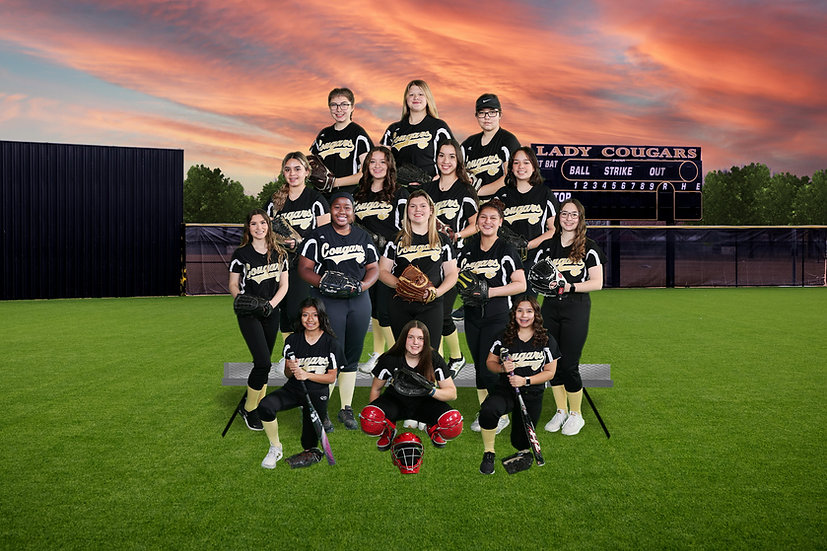 The Colony HS Softball JV Team 2020-21.j