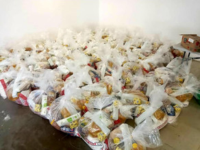 COVID-19: Food hampers for the sponsored children