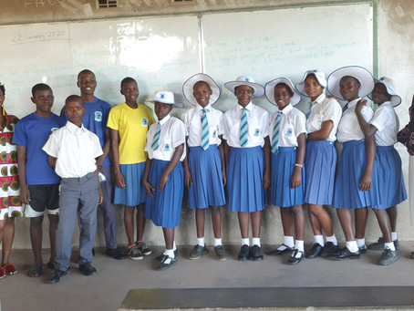 Visiting our children starting secondary school