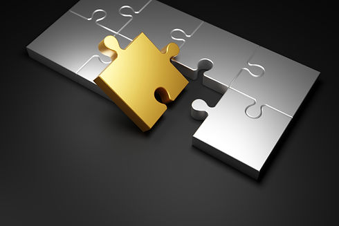 metal-jigsaw-puzzle-black-background-3d-