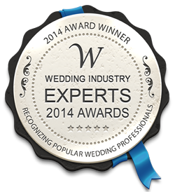 We Won The Wedding Industry Experts Awards for 2014!