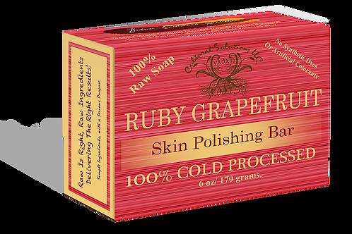 Ruby Grapefruit Skin Skin Polishing Bar