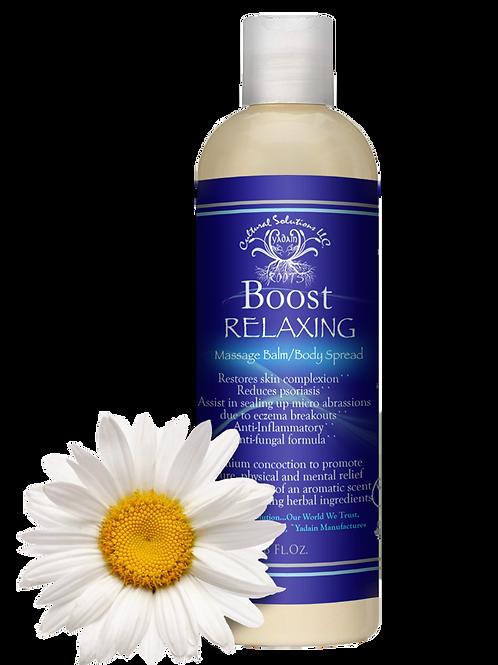 BOOST Massage Balm/Body Spread: Relaxing (8oz)